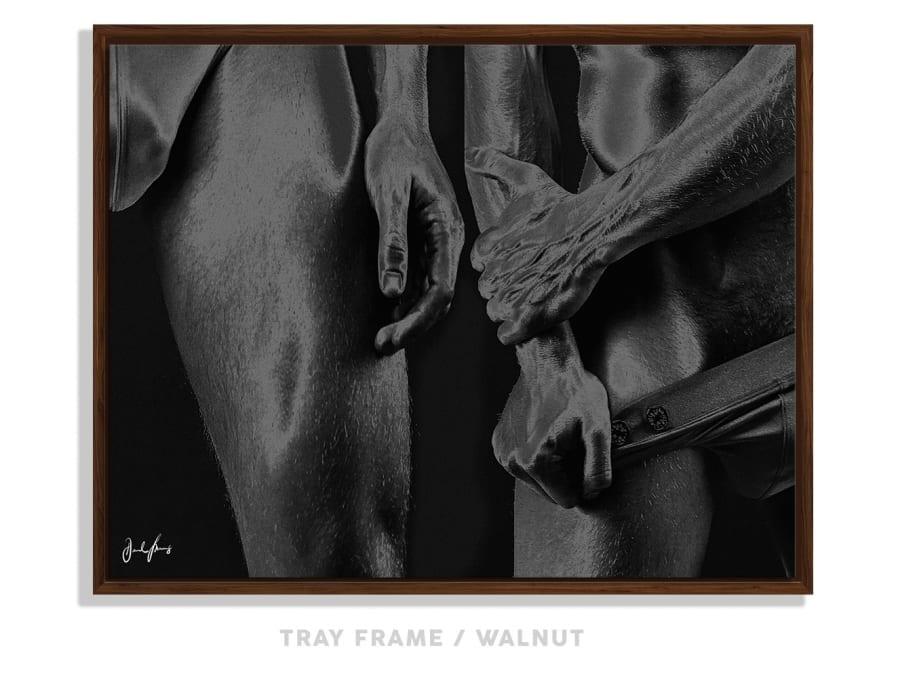 Horses - B&W 4